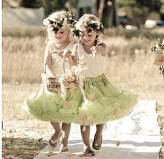 #Damas #Casamento #verde