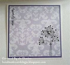... sympathy card that i have made and i just love this patterned digital