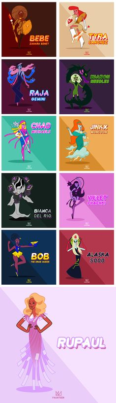 Drag Crystal Gems on Behance