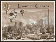 Lovin the Classics in Reno by Bobbee Rickard Prints available and more. Click on image to view my Classic Car Galleries, and more.
