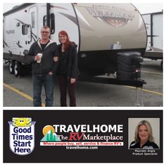 Congratulations to Al & Cindy on the purchase of their Wildwood 30KQBSS #traveltrailer from Maureen! #rvlife #wildwoodrv #camping #travel #gorving