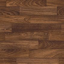 Black Walnut, dark brown wood coloured Heterogeneous flooring | Secura range | Polyflor