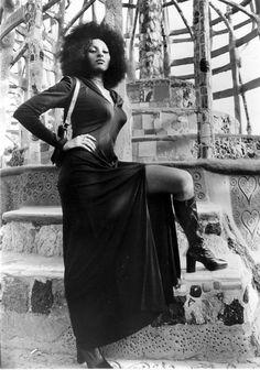 "BLAXPLOITATION....SHUT YOUR MOUTH! Pam Grier as Foxy Brown. Vigilante justice? "" It's as American as apple pie."""