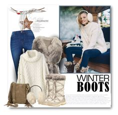 """Awesome Winter Boots"" by bliznec ❤ liked on Polyvore featuring Free People, PINGHE, Timberland, Lucky Brand, Uniqlo and winterboots"