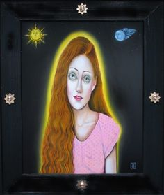 Girl With The Sun In Her Hair by Antonio Roybal