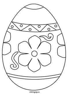 Ornate Easter Egg Coloring Page Easter Template Easter Egg Template, Easter Templates, Bunny Templates, Easter Printables, Templates Printable Free, Free Printable Coloring Pages, Printable Designs, Easter Coloring Pictures, Easter Egg Coloring Pages