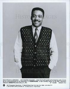 1989 Press Photo Darryl Sivad Actor Homeroom Comedy Television Series Sitcom