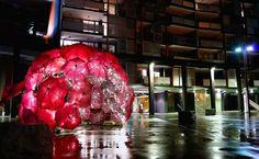 Sparkling Umbrella Installations : Anna Meister
