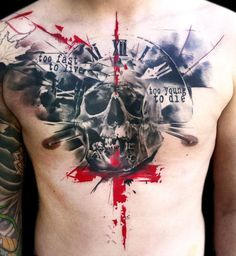 Tattoo Artist - Buena Vista Tattoo Club - Skull tattoo