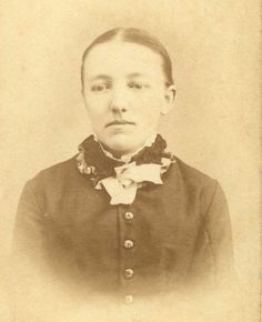 Mary Ingalls during her years at the Iowa College for the Blind. She was enrolled on Nov. 23, 1881 at the age of 16.