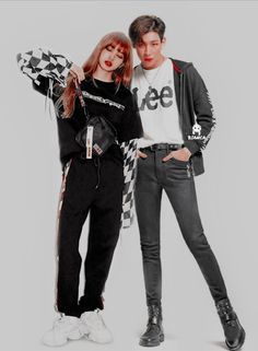 Lisa Blackpink x Bambam Couple Edit Bambam Lisa, Kpop Couples, Got7, Thailand, Idol, Ships, Magic, Wallpapers, Sea