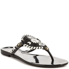 Georgica Jelly - Black White, Jack Roger, 49.99, FREE Shipping!