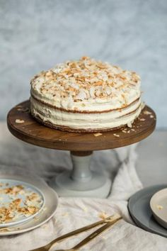 Kókuszos citromkrémes torta » Lila Füge