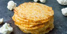 Low Carb Baked Cauliflower Tortillas (Gluten Free)