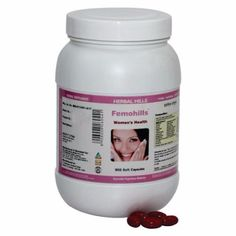 Femohills Womens Health 900 Capsules Value Pack (500mg Each Capsule) - Herbal Hills - #herbalfa