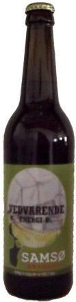 Vedvarende Energi Øl er en undergæret pilsner som er brygget på økologisk pilsner/vienna malt og humle.Den er blød og rund i smagen med en eftersmag af nødder