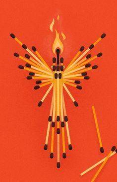 This phoenix has a fiery personality | University of Phoenix #art #sighting