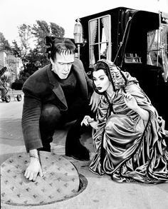 I have always loved everything Lily Munster wore.