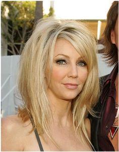 Celebrity Hairstyles: Heather Locklear