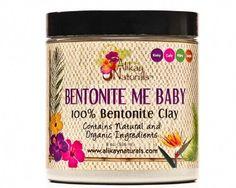Alikay Naturals Bentonite Me Baby 100% Bentonite Clay 8 oz
