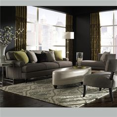 39 Ellis 39 Multiple Sectional Configurations Sofa Loveseat Chair Ottoman Accent Chairs