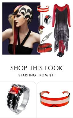 """""""not the same old"""" by rewolf71 ❤ liked on Polyvore featuring Cabbage is King, Punk and goth"""
