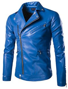 Back To Search Resultsmen's Clothing Delicious Mens Spring Autumn Pu Imitation Leather Jacket Mens Slim Solid Color Stand Collar Business Casual Motorcycle Leather Jacket Agreeable Sweetness Jackets & Coats