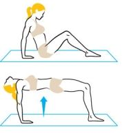 Pilates moves for lower abs.