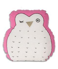 Hoot Owl Pillow