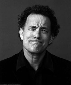 Tom Hanks ... his facial expression is adorable :)