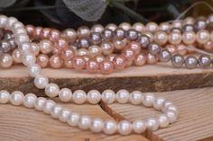 Χάντρες Πέρλες Φυσικές Ιβουάρ 8mm 48τεμ. BD3182-506  Χάντρες πέρλες φυσικές σε χρώμα ιβουάρ.Διάμετρος: 8mmΗ συσκευασία περιέχει 48 τεμάχια. Pearl Necklace, Beaded Bracelets, Pearls, Jewelry, Fashion, Jewellery Making, Moda, String Of Pearls, Jewels