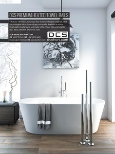 ArchitectureNZ - DCS Heated Towel Rails