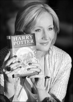 """Joanne """"Jo"""" Rowling, (born 31 July 1965), pen names J. K. Rowling and Robert Galbraith, is a British novelist best known as the author of the Harry Potter fantasy series. The books have gained worldwide attention, won multiple awards, and sold more than 400 million copies. They have become the best-selling book series in history #writer"""