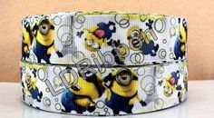 1 Minion Inspired Grosgrain Ribbon by StitchWhichLL on Etsy