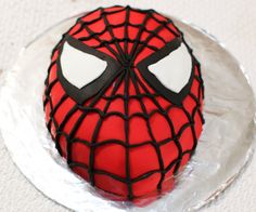 In this instructable I will show you how to make a Spiderman Cake. Spiderman is one of my favorite superheroes. I had a request to make a superhero cake so I decided to make a Spiderman cake. One of my good friends also likes Spiderman, so I decided to surprise him with this cake. This cake is pretty easy to make, it gets a bit tedious putting on the black fondant for the webbing, but if I can do it, you can do it. Let's get baking!If you happen to like this instructable please vote for it…