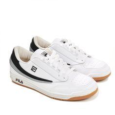 6da47a3a81 Gosha Rubchinskiy DSM Exclusive Fila Sneakers (White Black Grey)