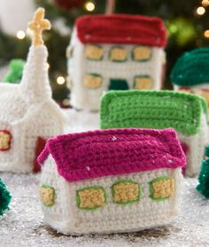 Amogurumi Christmas Village - Tutorial ❥ 4U hilariafina  http://www.pinterest.com/hilariafina/