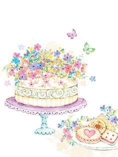 Liz Yee - Cake With Cookies
