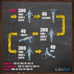 Séance de CrossFit au poids du corps avec de la corde à sauter !