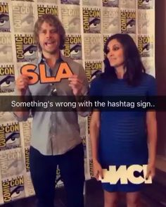 This is a snapchat film. Eric Christian Olsen and Daniela Ruah attend CBS Fan Favorites Press Line during Comic-Con International 2016 at Hilton Bayfront on July 23, 2016 in San Diego, California. repost cbstvstudios