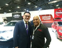 Rene from Revv Motoring with Mr.Glenn Tan  CEO Tan Chong International... #sgcarshoots #sgexotics #speed  #sgcaraddicts #sportcars #sgcars #revvmotoring #monsterenergysg #nurburgring #cars #carinstagram #hypercars #monsterenergy #carswithoutlimits  #follow4cars #motorsports #gopro  #singapore #racetrack #supercarlifestyle #speedy #motoring #fastcars #carporn #fashion #luxurylifestyle #nissan