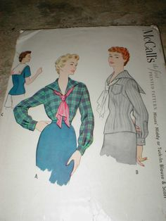 McCall's 9935: best pic I can find - love the plaid version of this middy!