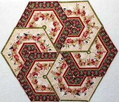 A Colorful Season Chickadee Hexagon Table Topper Kit at Creative ...