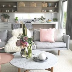 We love seeing how our customers style Eadie in their homes. Design Devotee your living space is looking just divine with our Stitch Series cushion in Soft Pink! www.eadielifestyle.com.au