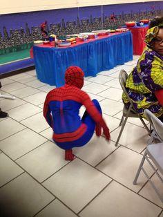 Have Hunter dress up as spider-man! Man Birthday, Baby Car Seats, Spiderman, Dress Up, Children, Spider Man, Young Children, Boys, Costume