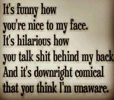 Bad so called friends. Kick you when u r down.