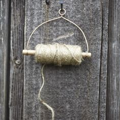 Natural string holder for your garden needs
