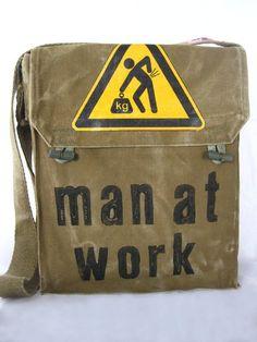 Kult-Tasche, veredelt - Original aus den 60ern.
