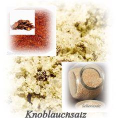 Würzsalze (z.B. Knoblauch/Sellerie/Tomate)