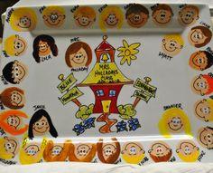 Cute platter for Teacher Appreciation